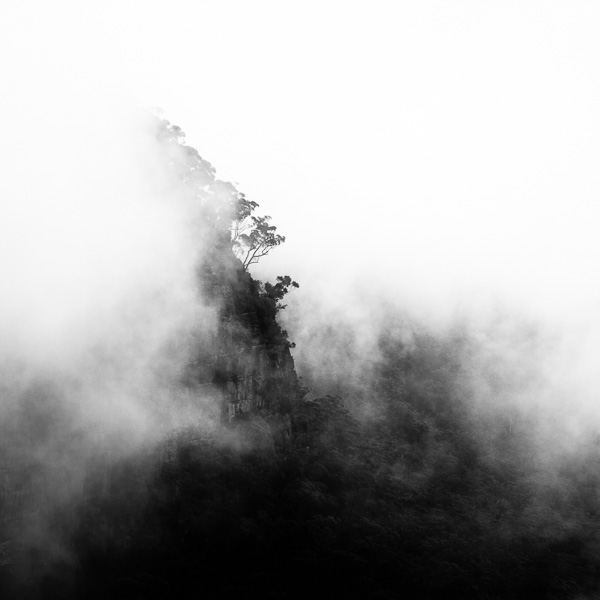 Black And White Abstract Landscape Photography